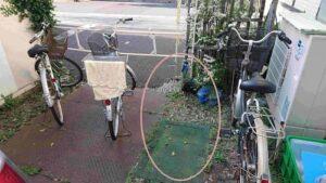 自転車停める場所2